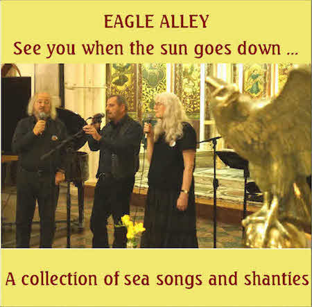 Cover design for Eagle Alley Shanty EP